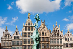 Grote Markt Antwerp Royalty Free Stock Photos