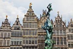 Grote Markt Antwerpen Stockbilder
