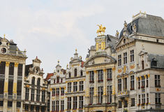 Grote Markt in Brussels Royalty Free Stock Photo