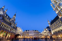Grote Markt, Brussels, Belgium, Europe. Royalty Free Stock Images