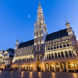 Grote Markt, Brussels, Belgium, Europe. Grote Markt - The main square and Town hall of Brussels, Belgium, Europe Stock Images