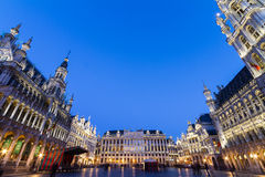 Grote Markt, Brussels, Belgium, Europe. Grote Markt - The main square and Town hall of Brussels, Belgium, Europe Royalty Free Stock Images