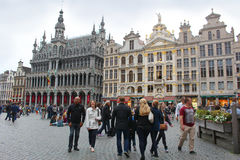 Grote Markt, Brussels Royalty Free Stock Photos