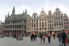 Grote Markt, Brussels Stock Photos