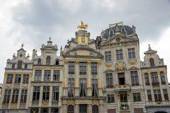 Grote Markt Brussels Belgium Stock Photography