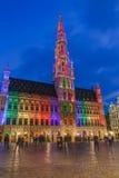 Grote Markt a Bruxelles Belgio Immagini Stock