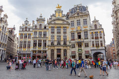 Grote Markt Bruxelles Royalty Free Stock Image