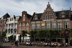 Grote Markt in Haarlem, Netherlands. Royalty Free Stock Image