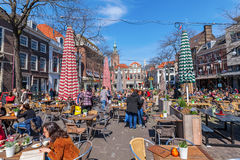 Grote Markt in The Hague, Netherlands Royalty Free Stock Photography