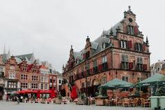Grote Markt il quadrato principale di Nimega, Paesi Bassi Fotografia Stock Libera da Diritti