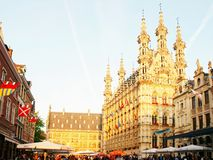 Grote Markt in Leuven Royalty Free Stock Photo