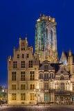 Grote Markt in Mechelen - Belgium. Grote Markt in Mechelen Belgium - architecture background Royalty Free Stock Images