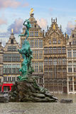 Grote Markt square, Antwerpen Royalty Free Stock Photo