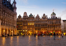 Grote Markt Town Square, Brusseles Royalty Free Stock Photography