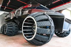 Grote Mars Rover Concept Vehicle stock fotografie
