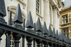 Grote mening van een een eliteuniversiteit en hogeschool in Cambridge, het Verenigd Koninkrijk stock fotografie