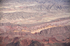 Grote meningen van het land van Nevada Stock Fotografie