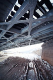 Grote metaalbrug Stock Afbeelding