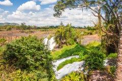 Grote Mooie waterval Royalty-vrije Stock Fotografie
