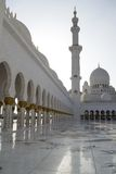 Grote Moskee, Abu Dhabi stock afbeeldingen