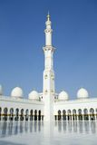 Grote Moskee, Abu Dhabi stock afbeelding