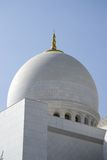 Grote Moskee, Abu Dhabi royalty-vrije stock foto