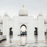 Grote Moskee Abu Dhabi Stock Foto's