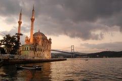 Grote Moskee Mecidiye royalty-vrije stock fotografie