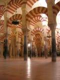 Grote Moskee van Cordoba Spanje Royalty-vrije Stock Foto's