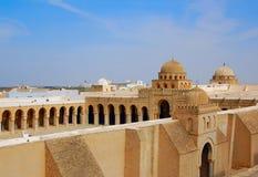 Grote Moskee van Kairouan Royalty-vrije Stock Foto's