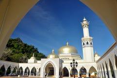 Grote Moskee van Lawas, Sarawak, Maleisië Stock Foto