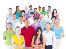 Grote Multi-etnische Groep Mensen Royalty-vrije Stock Foto