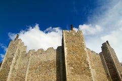 Grote muren van het kasteel Royalty-vrije Stock Fotografie