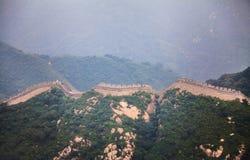 Grote Muur; stock afbeeldingen