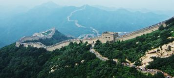 Grote Muur stock fotografie