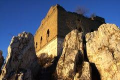 Grote muur in berg Royalty-vrije Stock Fotografie