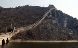 Grote Muur (China) stock foto