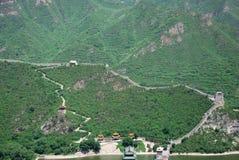 Grote Muur in China Royalty-vrije Stock Afbeelding