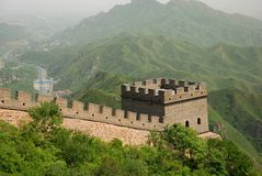 Grote Muur in China Stock Foto