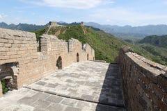 Grote muur, China royalty-vrije stock foto