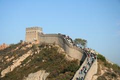 Grote Muur - op de bovenkant Stock Foto