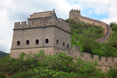 Grote Muur, Peking Stock Foto's