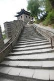 Grote Muur, Peking, China Royalty-vrije Stock Fotografie
