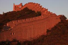 Grote Muur van China Stock Foto's