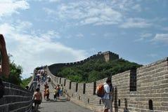 Grote Muur van China Royalty-vrije Stock Afbeeldingen