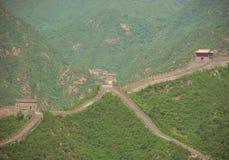 Grote Muur van China Stock Afbeelding