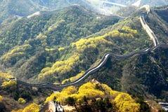 Grote muur van China Royalty-vrije Stock Afbeelding