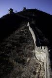 Grote Muur van China bij Juyongguan-Pas Stock Afbeelding