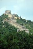 Grote Muur van China - de Middag van de Zomer Royalty-vrije Stock Fotografie