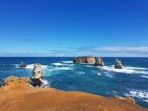Grote Oceaan de Wegreis van Australië stock foto's